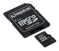 プロフェッショナル キングストン16GB MicroSDHC カード LG LN272S用 カスタムフォーマットと標準SDアダプター付き (クラス4)
