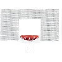 Bison , Inc。穴あきスチールPlayground Backboard、ホワイト、1サイズ