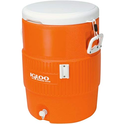igloo(イグルー) 5ガロン シートトップ ウォータージャグ(18.9L) オレンジ/ホワイト #42316