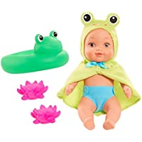 Waterbabies Bath Time Fun Doll withテーマ浮きと2つWater Squirters – FROGGIE
