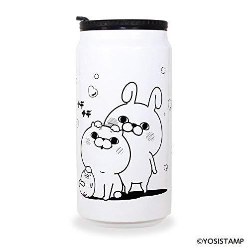 ヨッシースタンプ YOSISTAMP 缶型 サーモ タンブラー ホワイト ナデナデ...