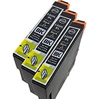 EPSON(エプソン)インクカートリッジ IC4CL69 - BK増量 3本セット 残量表示機能付 最優良純正互換インクカートリッジ Green shower製商品【安心一年保障付き69BK3】