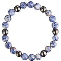 Zorbitz Lucky Magnetic Bracelet Blue Sodalite [並行輸入品]