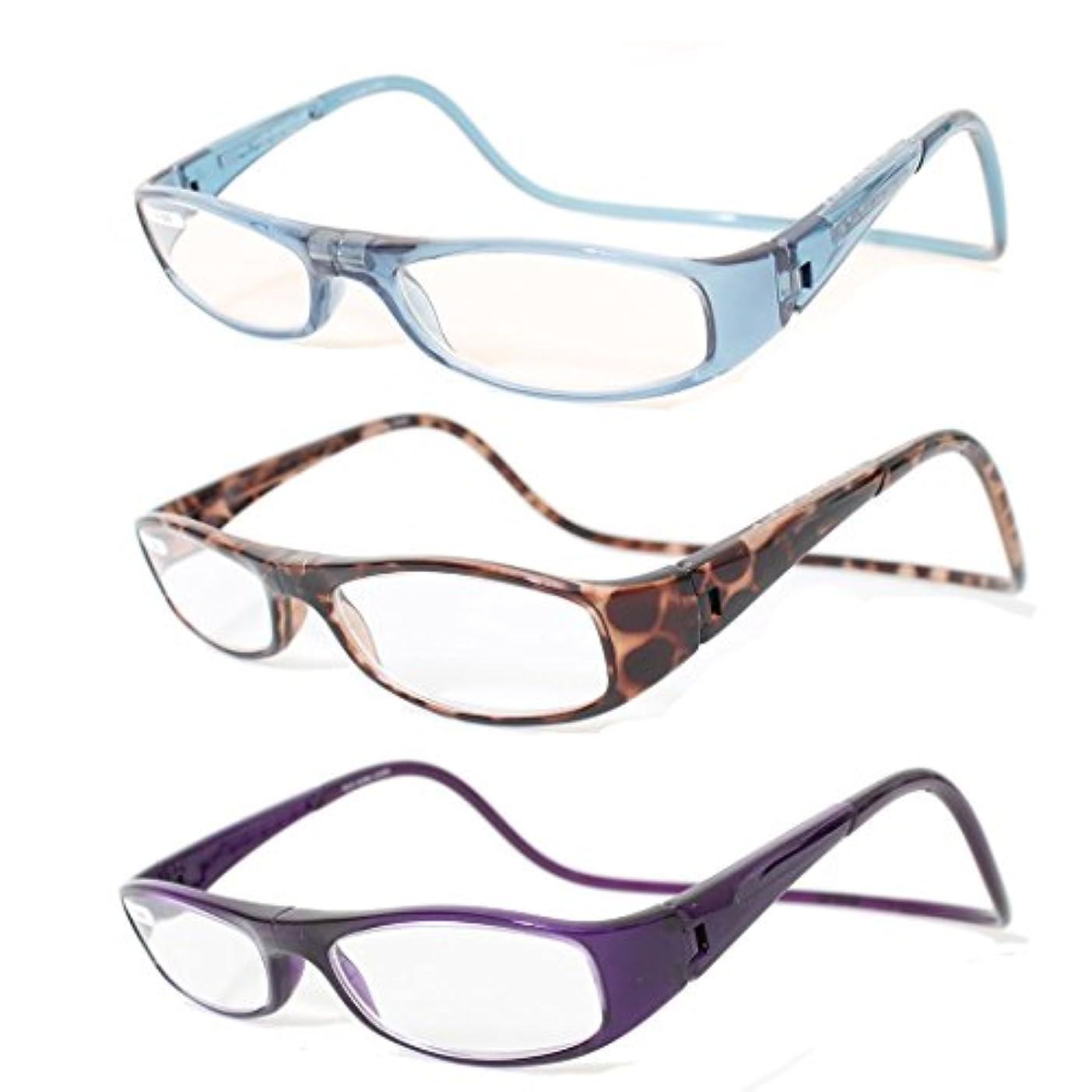 Clicleaders ユーロ +1.50 アイスバーグ クリックリーダー シニアグラス 老眼鏡