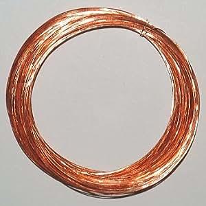 ノーブランド品 ポリウレタン銅線 0.32mm 20m(±2%) 巻 UEW0.32L20