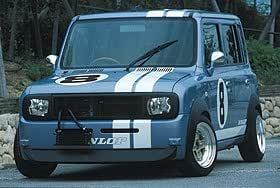 ラパン HE21S フロントバンパースポイラー アウトバーンスポーツ