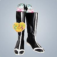 ★サイズ選択可★女性23.5CM UC451 死神BLEACHブリーチ 市丸ギン コスプレ靴(破面) ブーツ