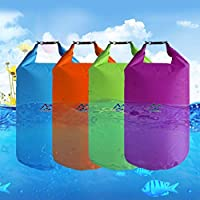 Outdoor Dry Waterproof Bag 10L Dry Bag Sack Waterproof Floating Dry Gear Bags For Boating Fishing Rafting Swimming