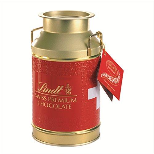 リンツ チョコレート(Lindt)リンドール ミルク缶ショッピングバッグM付