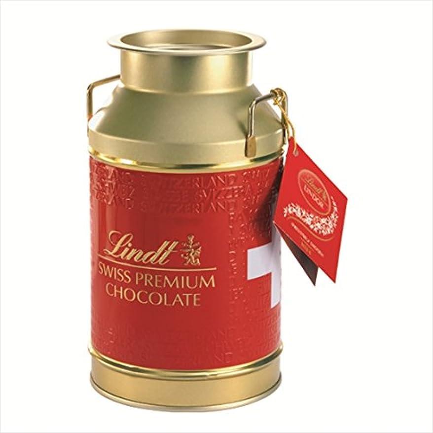 ノミネートスポーツマン見えないリンツ チョコレート(Lindt)リンドール ミルク缶?????????????M付