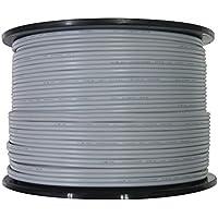 関西通信電線 VFF ビニール平型コード 0.75平方ミリメートル×2芯 灰