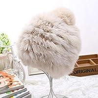 CAICOLOR 秋と冬の暖かいウサギの毛皮ファッションニット帽子、レディースかわいいヘッドキャップウールの帽子 (色 : 1)