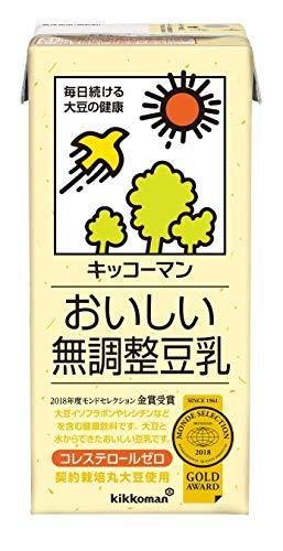 おいしい無調整豆乳 1L ×6本