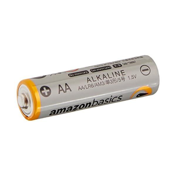 Amazonベーシック アルカリ乾電池 単3形...の紹介画像2