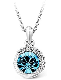 T400 Jewelers Frozen Beauty Necklace Made with Crystals Fashion Jewellry for Women Mother's Day Gifts