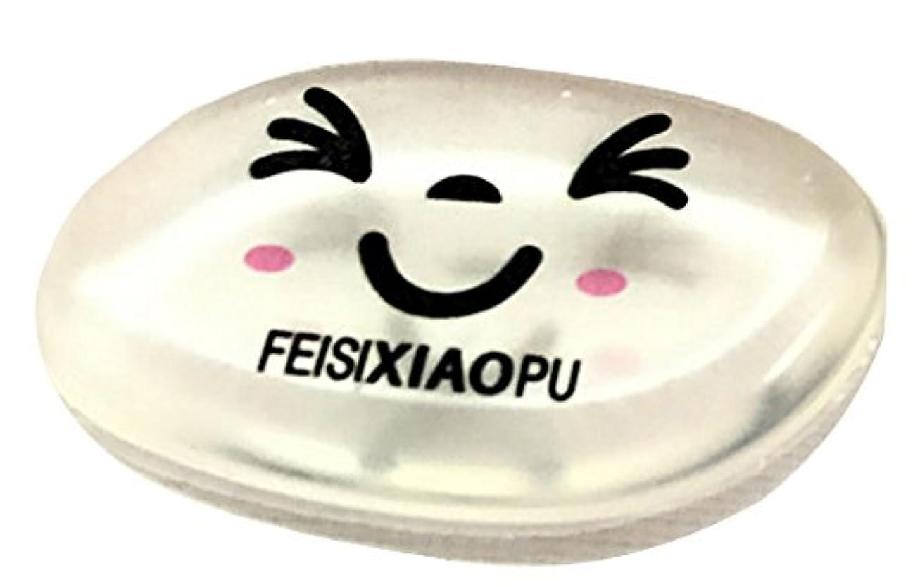 Plus Nao(プラスナオ) ケース付き シリコンパフ メイク用 シリコン パフ シリコン製パフ シリコンス ポンジ 洗える スポンジ メイク道具 フ