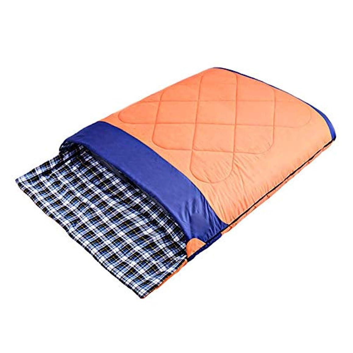 前帝国主義即席ダブルスリーピングバッグ、 圧縮袋ライトおよび防水四季の普遍的な寝袋の屋外のキャンプを使って