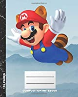 Composition Notebook: Blank Paper Notebook Journal,Workbook for Kids, Mario Bros,Teens, Students for Back to School and Home College Writing,Unique Notebook (109 Pages,Blank Paper,8 x 10) (School Notebook)