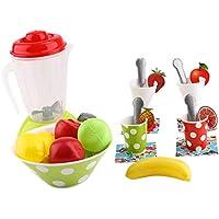 B Baosity 子供 ままごと ごっこ遊び 調理 キッチン カップ スプーン ジューサー ゲーム 玩具