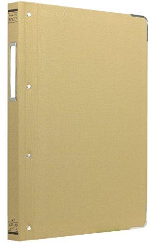 コクヨ ファイル バインダー 布貼 A4 縦 角金付 30穴 100枚収容 ハ-113Z