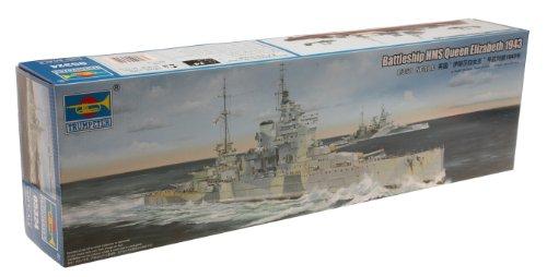 トランペッター 1/350 イギリス海軍戦艦 HMS クィーン・エリザベス プラモデル