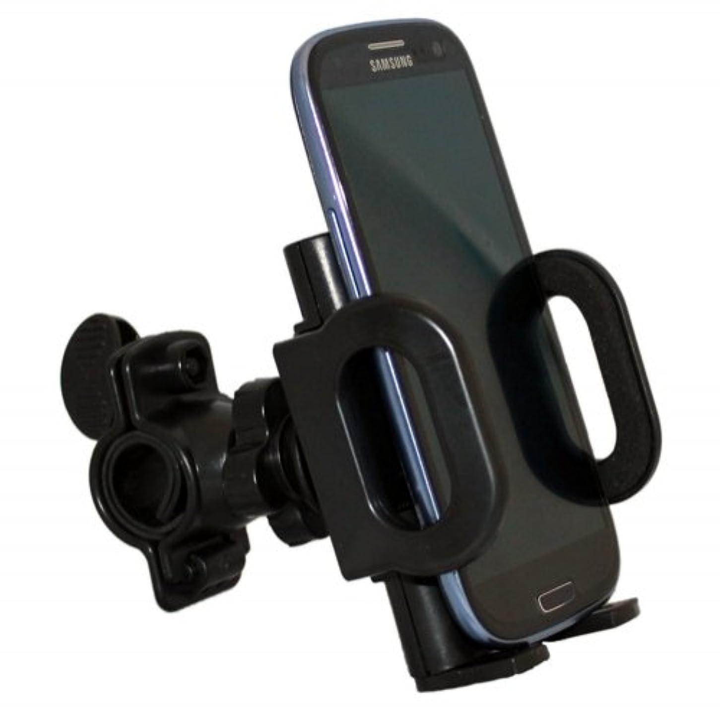ミニどう?きゅうりXendaユニバーサル回転自転車マウントバイクハンドルバー携帯電話ホルダーIphone 5 , 5s , 4s , 4 , 3 GS , 3 G – iPod Touch – Blackberry z10 – Samsung Galaxy s4 S 4 – Samsung Galaxy s3 S 3 III – HTC One、One VX