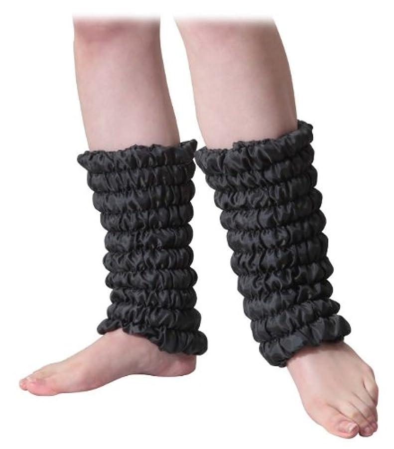 不条理ずんぐりした乳剤富士パックス販売 オーラ 蓄熱繊維 足湯気分 「 足首 岩盤浴 ウォーマー 」 ブラック