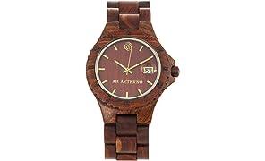 [アバテルノ]AB AETERNO 腕時計 NATURE COLLECTION ウッド ROCKY 9825019 メンズ 【正規輸入品】