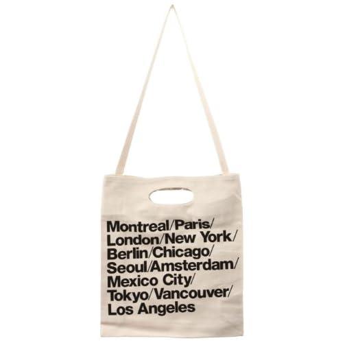 (アメリカンアパレル) American Apparel ブルデニム ウォーバン シティバッグ トート Cities Bag ナチュラル