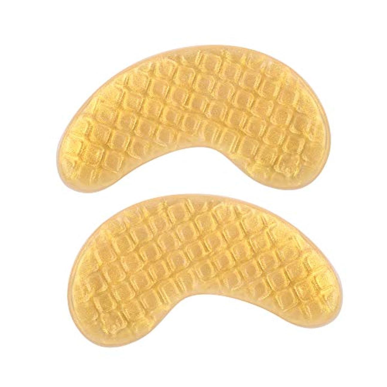 罹患率ジョガーサンダル20ペアコラーゲンアイパッチ、ハイドレイティングアイマスク、ゴールドクリスタルジェルグリッドモイスチャーアンチリンクルアイマスク、保湿、むくみ除去、スキンケア用アイマスク