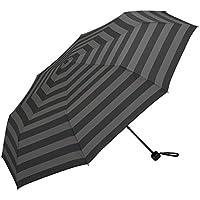 w.p.c(w.p.c) 【耐風】ウィンドレジスタンスアンブレラ(レディース/メンズ/折りたたみ傘/雨傘)【ボーダー/65】