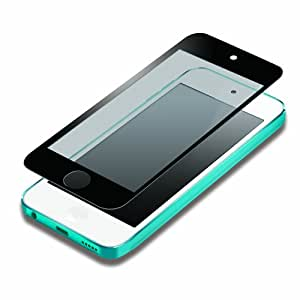 iJacket iPod touch 第5世代 液晶保護フィルム 気泡ZERO指紋防止タイプ ブラック PG-IPTO5ZRAGBK