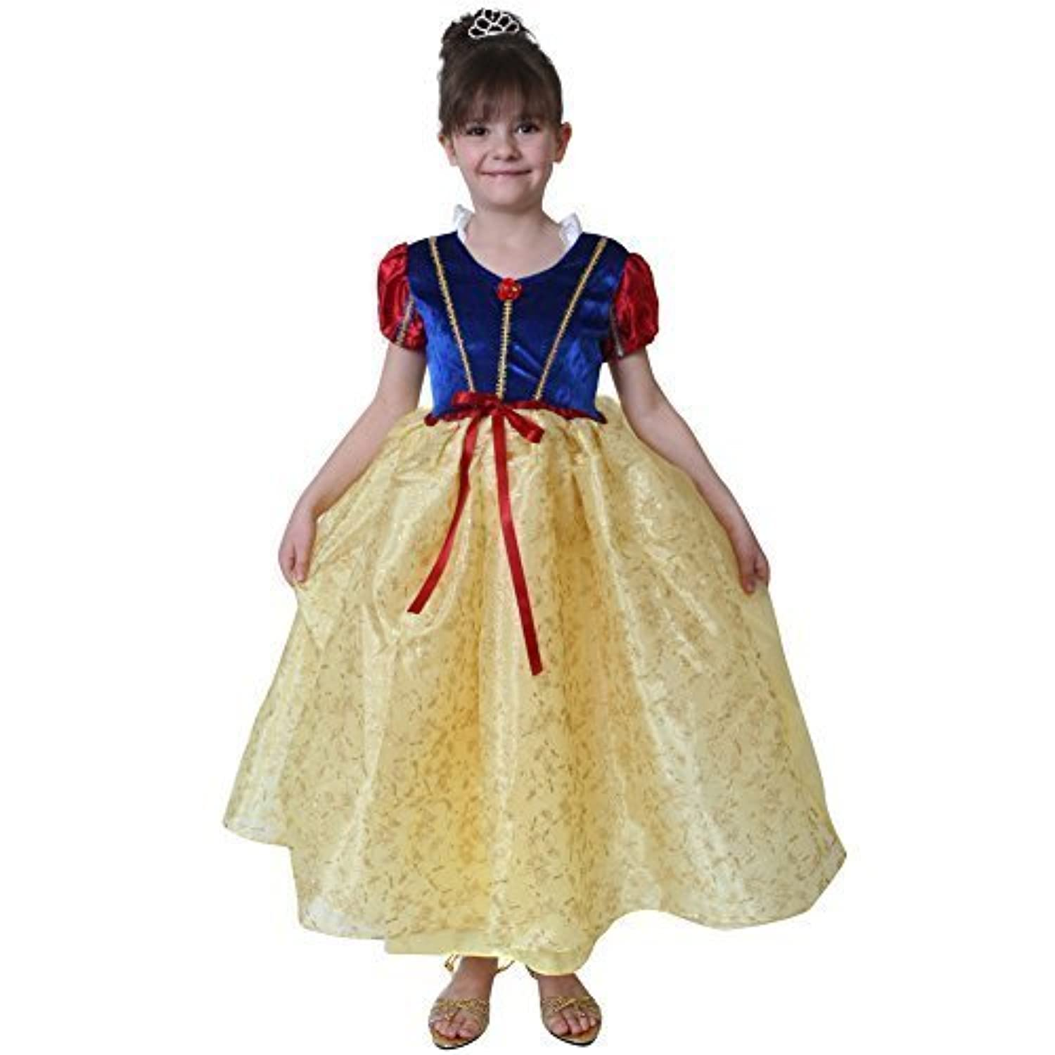 Storybook Wishes Yellow Snow White Dress Size 6/8 [並行輸入品]