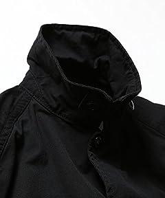 Ripstop Cotton Nylon Coach Jacket 11-18-2711-803: Black