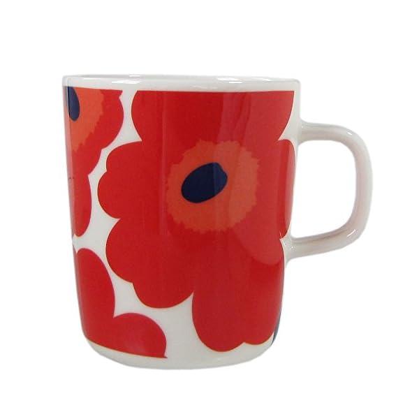 marimekko マグカップ ホワイト レッド...の商品画像