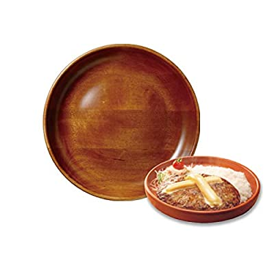 びっくりドンキー キッズディッシュ皿 直径約27cm 木皿