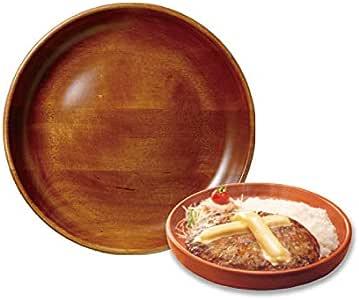 びっくりドンキー キッズディッシュ皿 直径約21cm 木皿