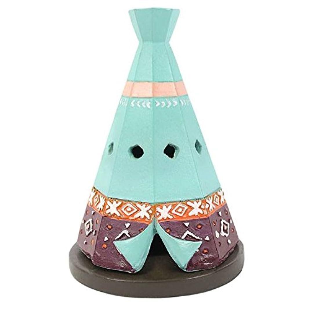 猛烈な見つける遷移Teepee / Wigwam Design Incense Cone Holder