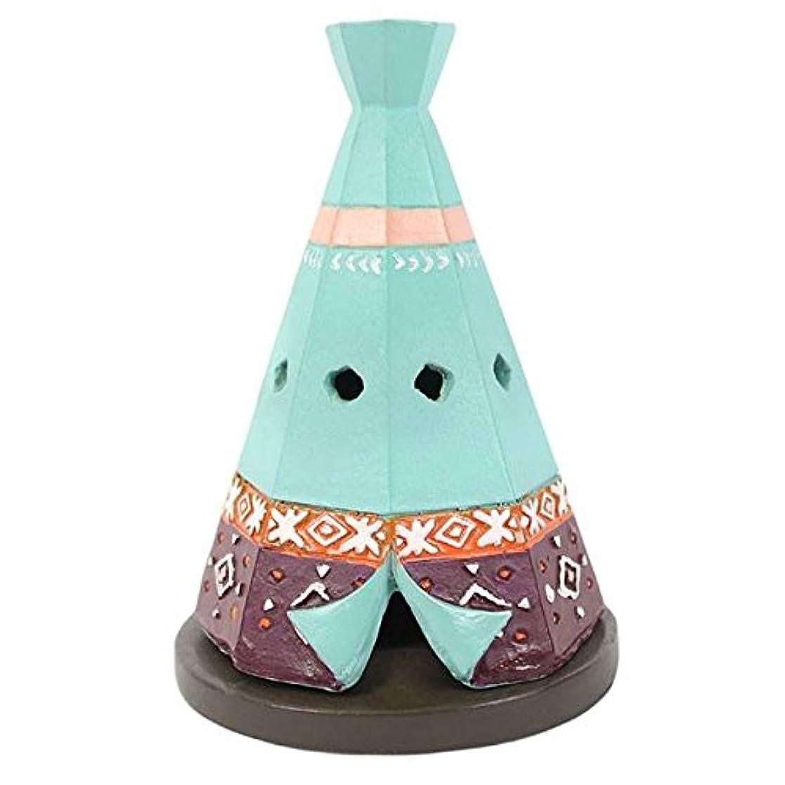 不合格ファッション配列Teepee / Wigwam Design Incense Cone Holder