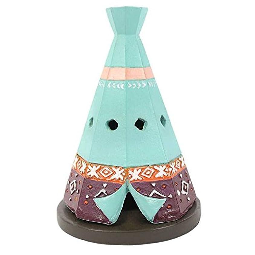 拮抗する不良品デュアルTeepee / Wigwam Design Incense Cone Holder