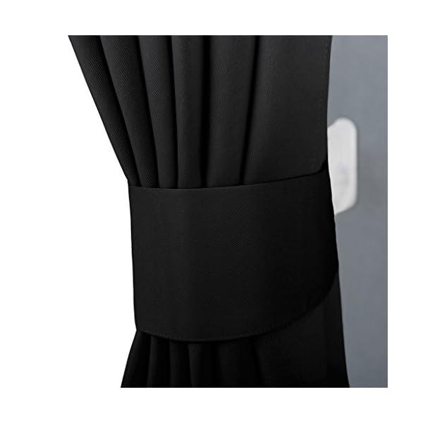 NICETOWN 遮光カーテン 2枚セット ブ...の紹介画像3