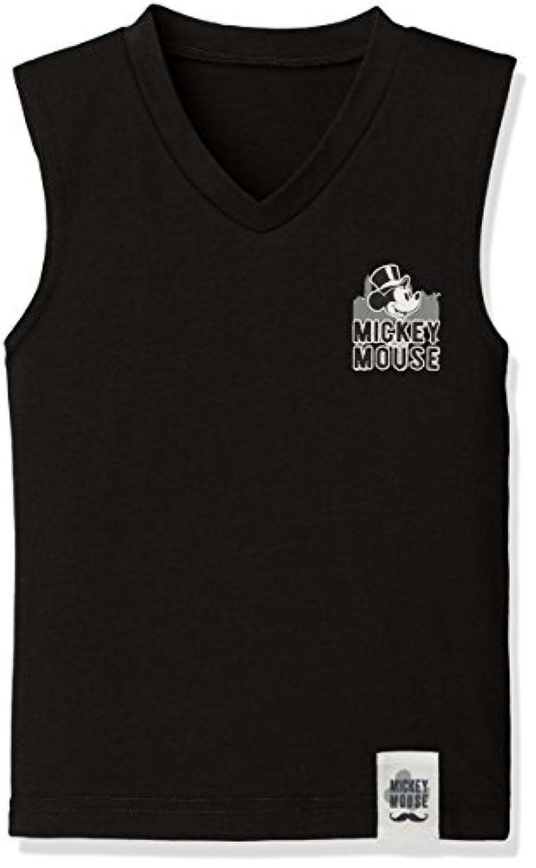 [ディズニー] ディズニーミッキーブラックランニングシャツ 371100866 ボーイズ