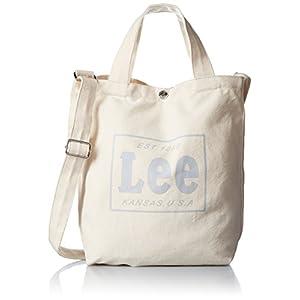 [リー] ショルダーバッグ コットンキャンバス(帆布) 2WAYトートバッグ 320-241 10 ホワイトコットン