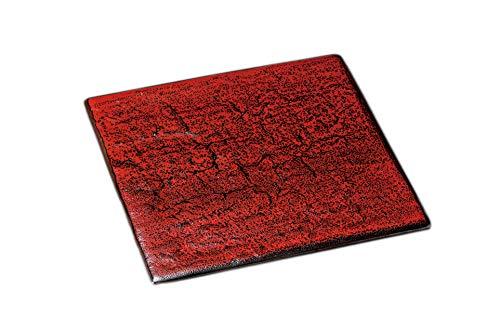 美濃焼 大皿 業務用 日本製 27×27×1.2�p 紅柚子天目岩肌正角27�p 23713474