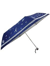 [雨晴兼用] フレンチプリント 55cm 耐風 ミニ傘