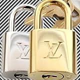 [ルイヴィトン]LOUIS VUITTON パドロック ゴールド シルバー ブライトタイプ R10000 R10024 [並行輸入品]