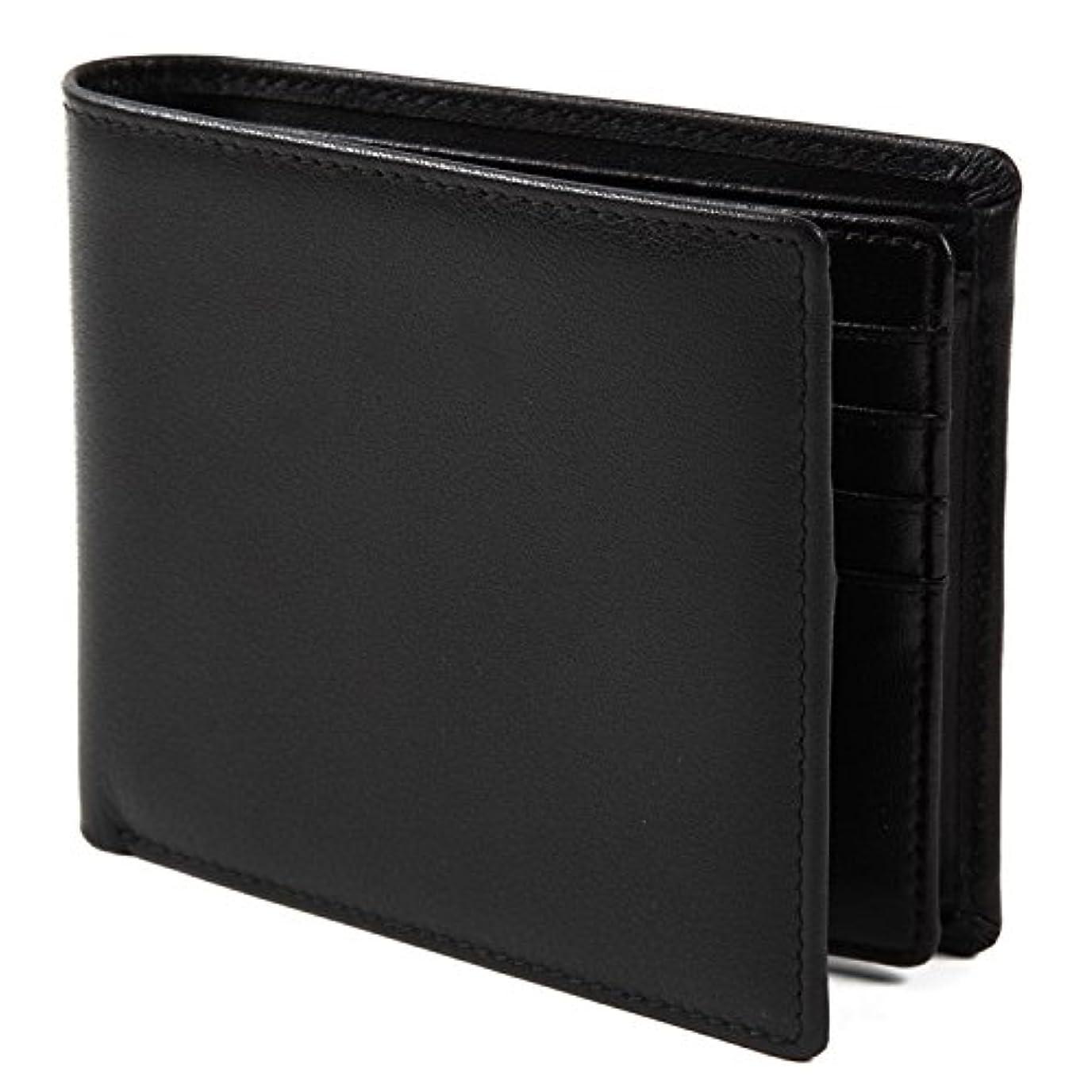 エンジニア分泌する精査【Avangly】二つ折り 財布 本革 大容量 メンズ ボックス型小銭入れ 隠しポケット付き 二つ折り財布