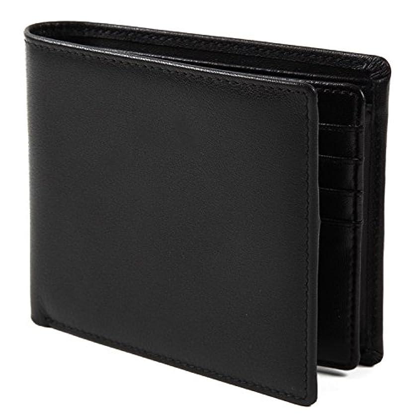 ヘア値するスツール【Avangly】二つ折り 財布 本革 大容量 メンズ ボックス型小銭入れ 隠しポケット付き 二つ折り財布