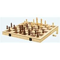Folding Wood Chess Set, 16