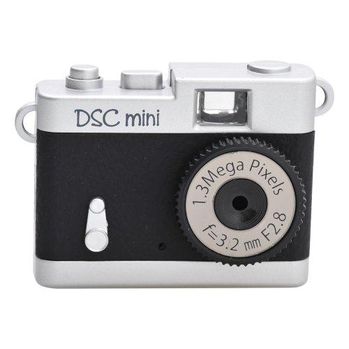 RoomClip商品情報 - Kenko デジタルカメラ DSC-MINIBK 131万画素 ブラック DSC-MINI BK